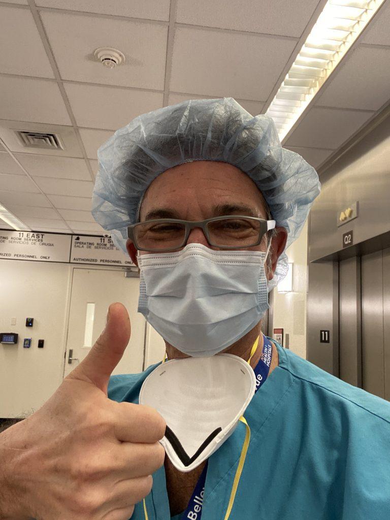 Dr. Rapaport Volunteering During COVID-19 Quarantine
